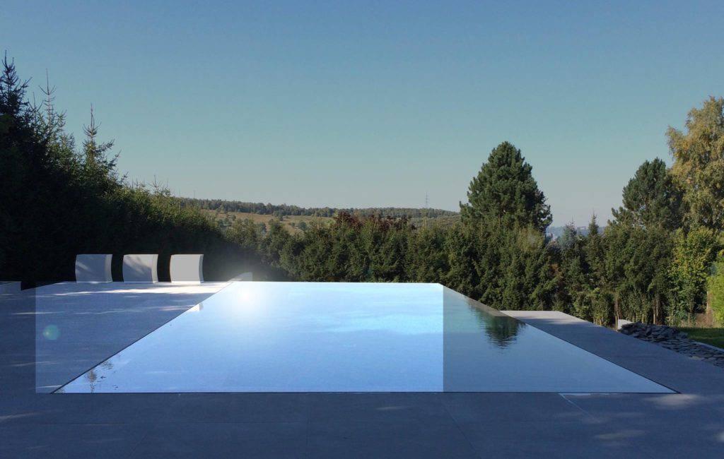 Piscine monobloc béton Concept Design Aix en provence